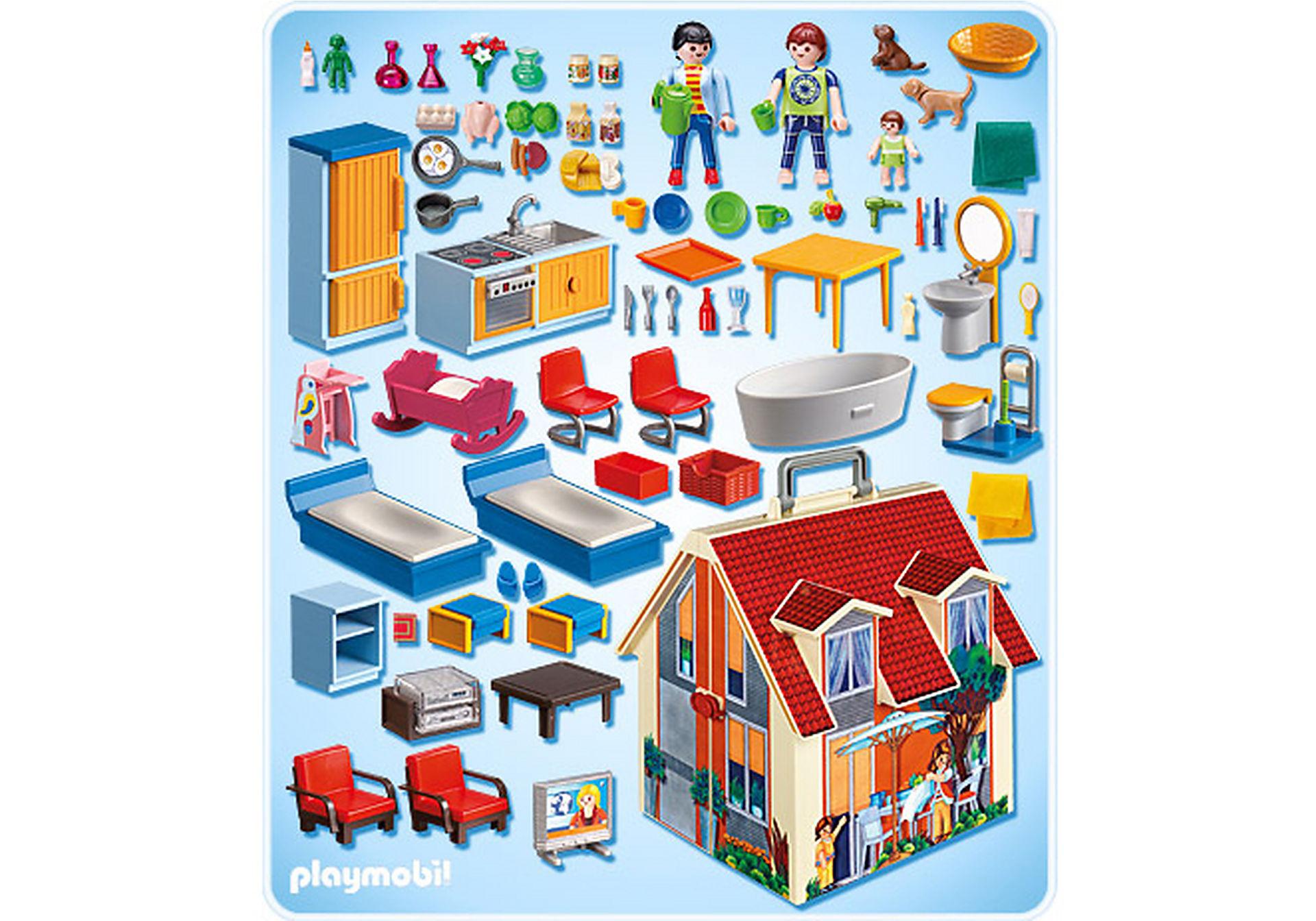 5167-A Neues Mitnehm-Puppenhaus zoom image2