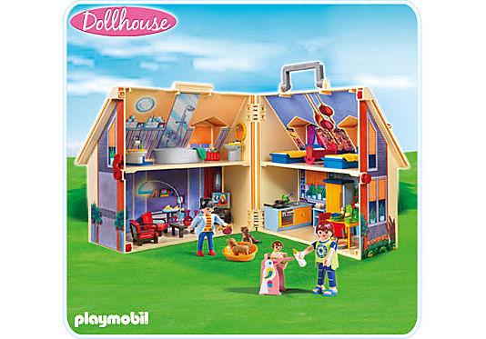 5167-A Neues Mitnehm-Puppenhaus detail image 1