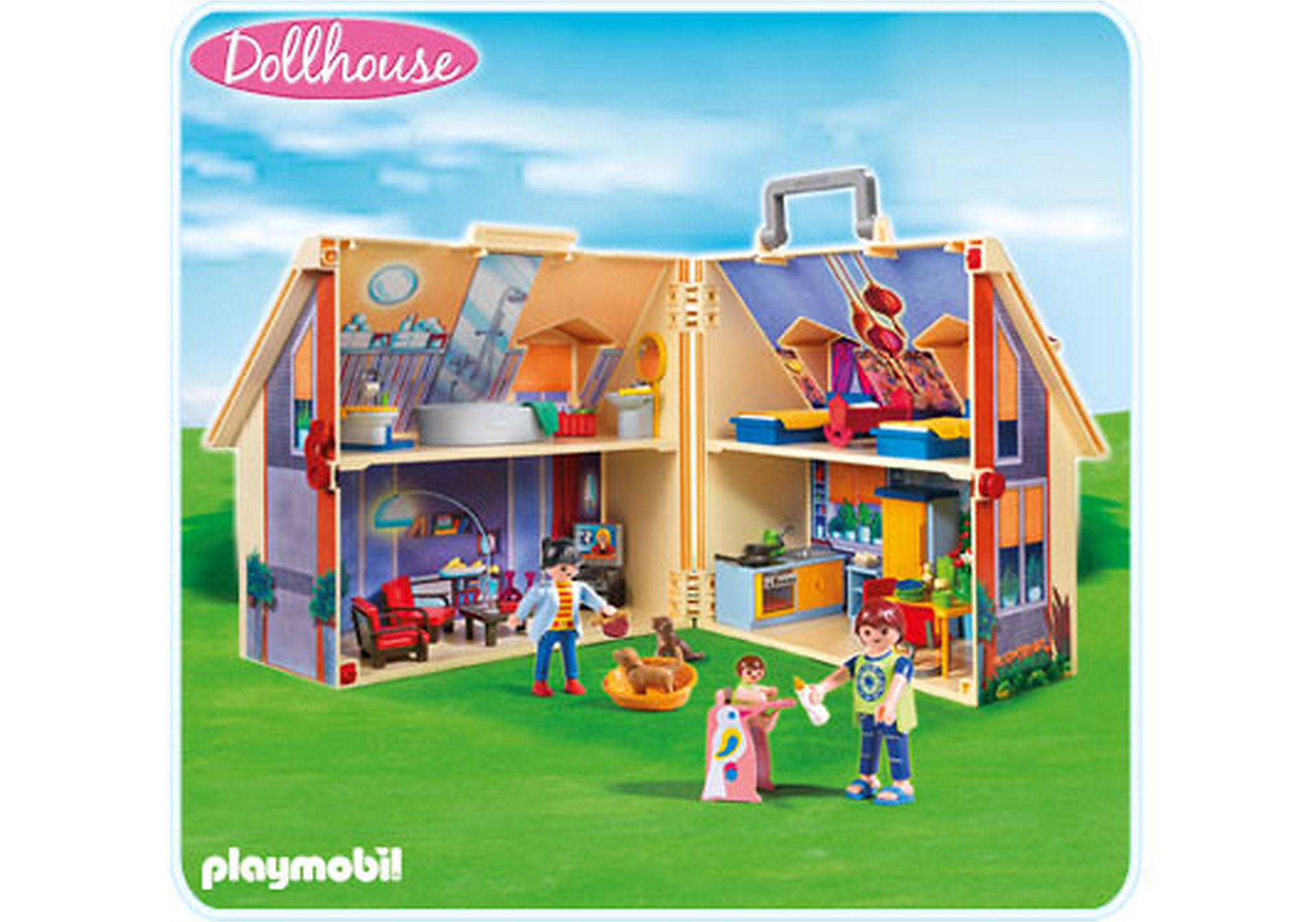 5167-A Neues Mitnehm-Puppenhaus zoom image1
