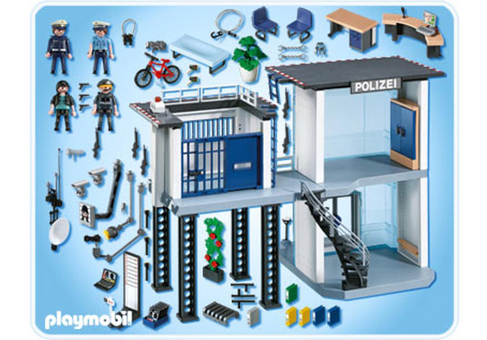 Polizei Kommandostation Mit Alarmanlage 5176 A Playmobil