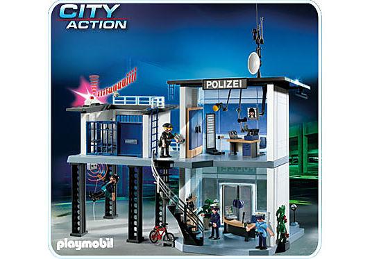 5176-A Polizei-Kommandostation mit Alarmanlage detail image 1