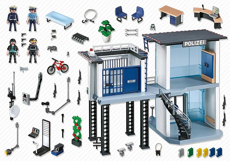 5176 Polizei-Kommandostation mit Alarmanlage detail image 4