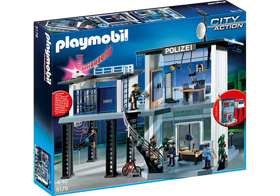 5176 Polizei-Kommandostation mit Alarmanlage detail image 3