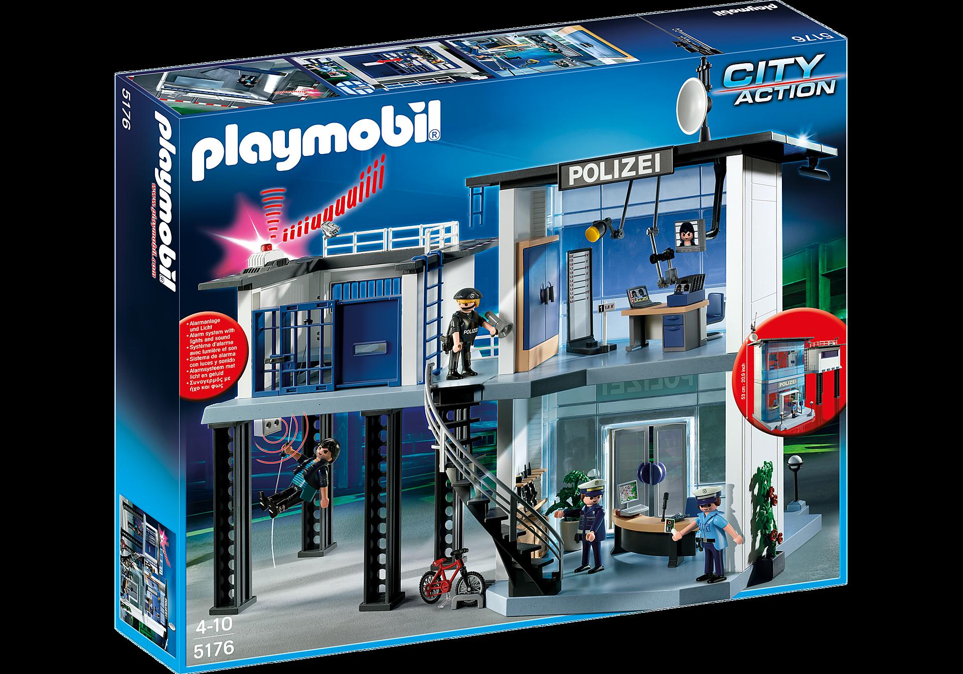 5176 Polizei-Kommandostation mit Alarmanlage zoom image3