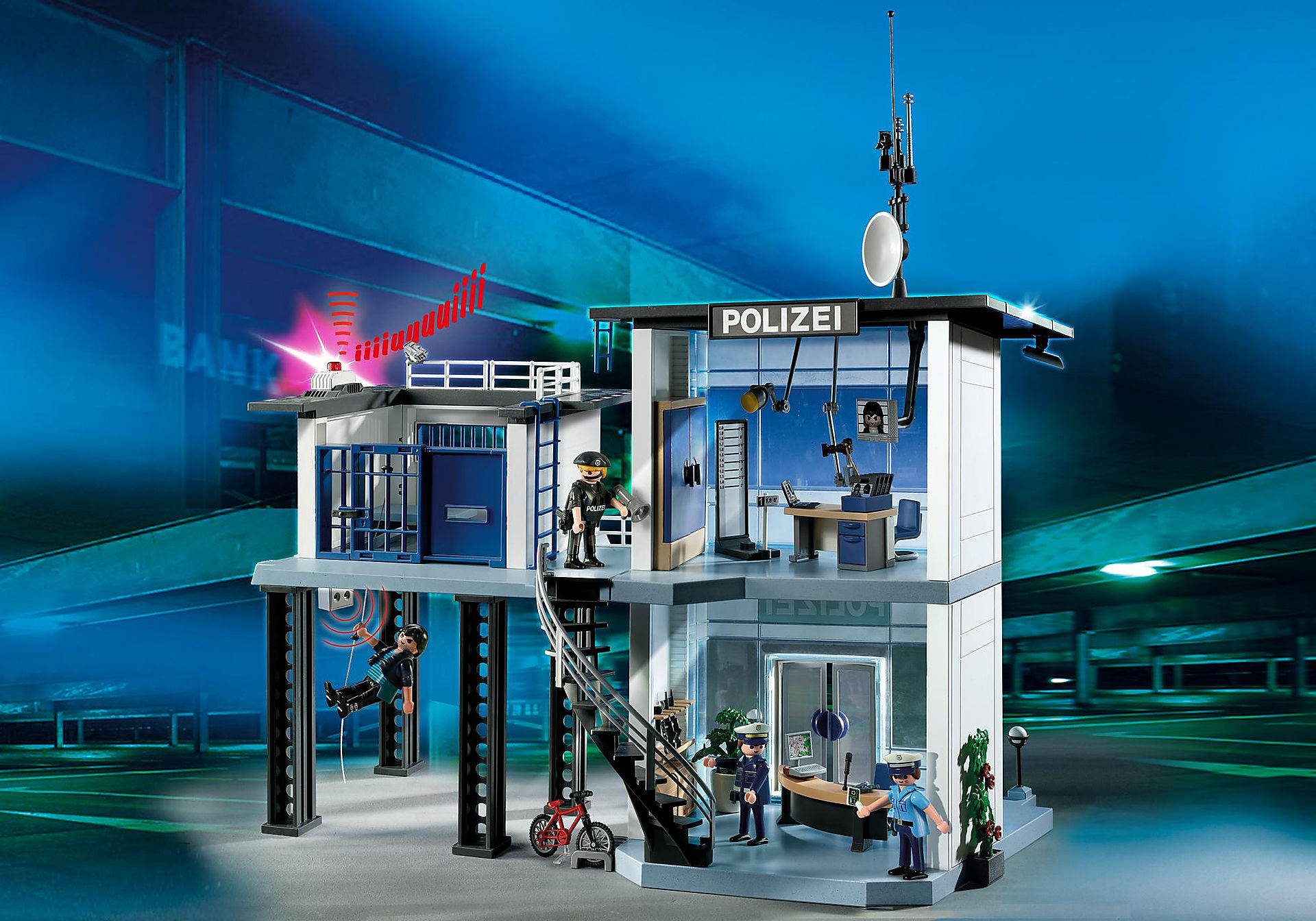 5176 Comisaría de Policía con Sistema de Alarma zoom image1