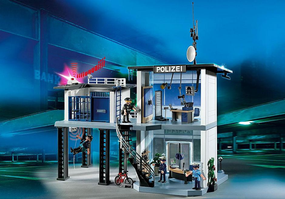 5176 Polizei-Kommandostation mit Alarmanlage detail image 1