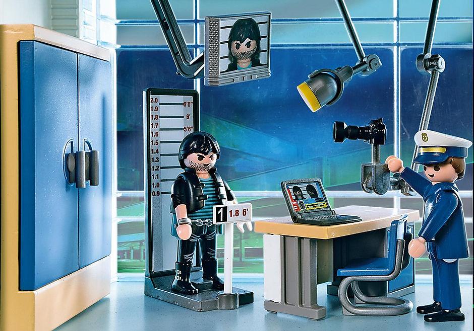 5176 Polizei-Kommandostation mit Alarmanlage detail image 5