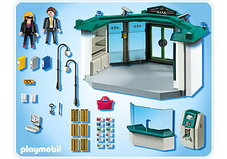 5177-A Bank mit Geldautomat detail image 2
