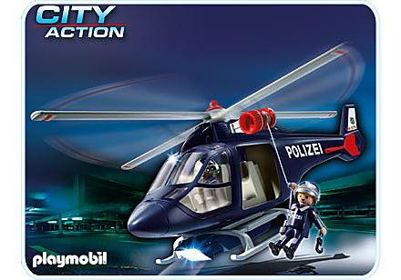 5178-A Polizeihubschrauber mit LED-Suchscheinwerfer detail image 1