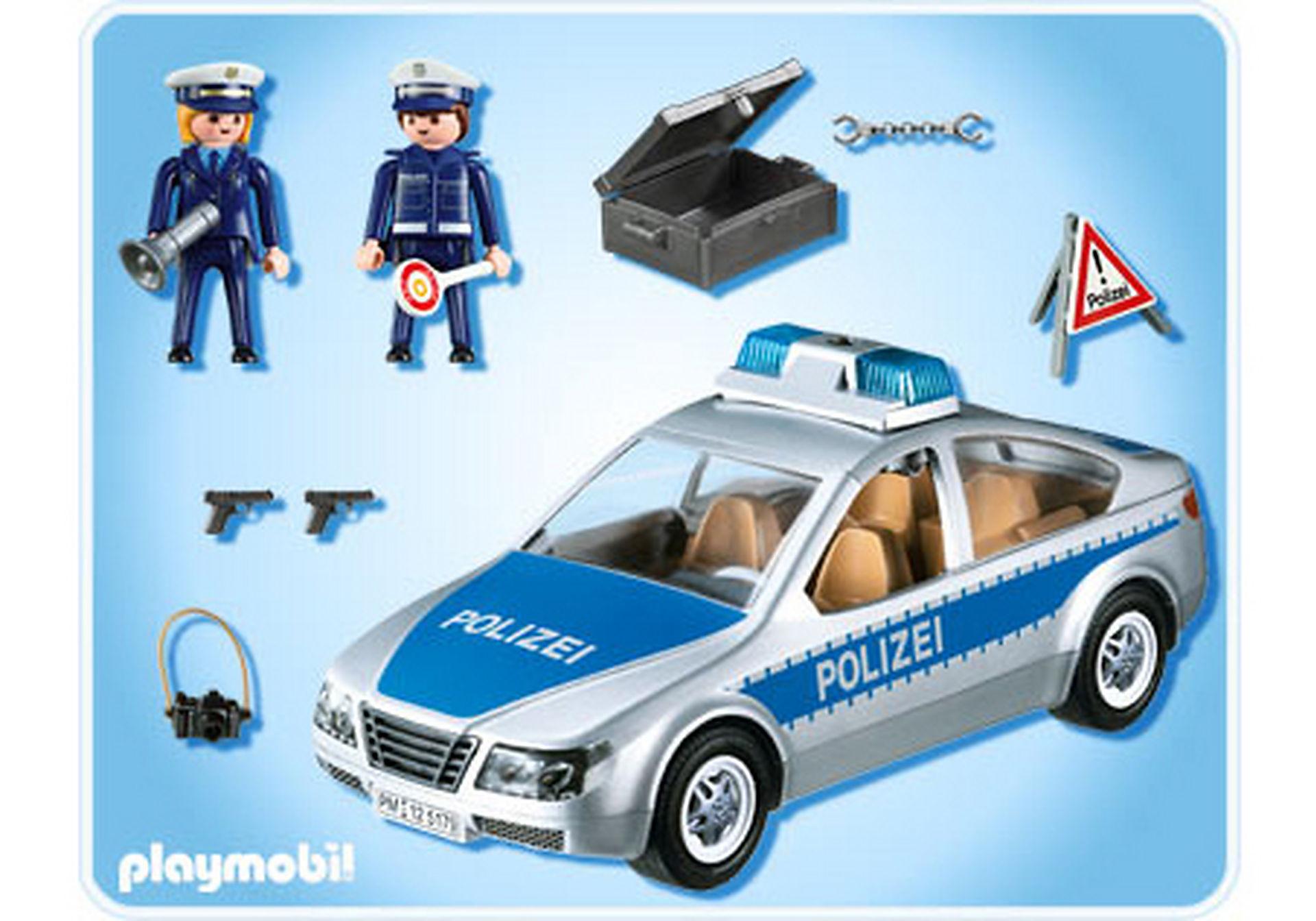 5179-A Polizeifahrzeug mit Blinklicht zoom image2