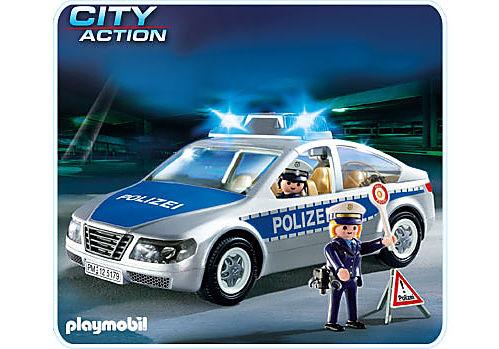 5179-A Polizeifahrzeug mit Blinklicht detail image 1