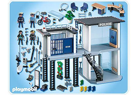 5182-A Polizei-Kommandostation mit Alarmanlage detail image 2