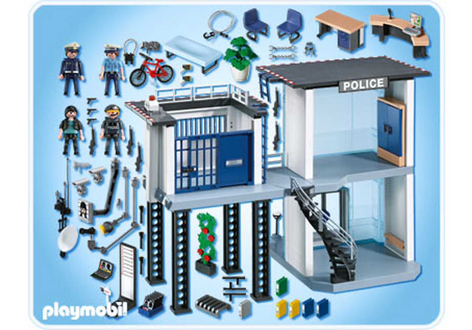 http://media.playmobil.com/i/playmobil/5182-A_product_box_back/Polizei-Kommandostation mit Alarmanlage