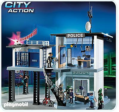 5182-A Polizei-Kommandostation mit Alarmanlage detail image 1