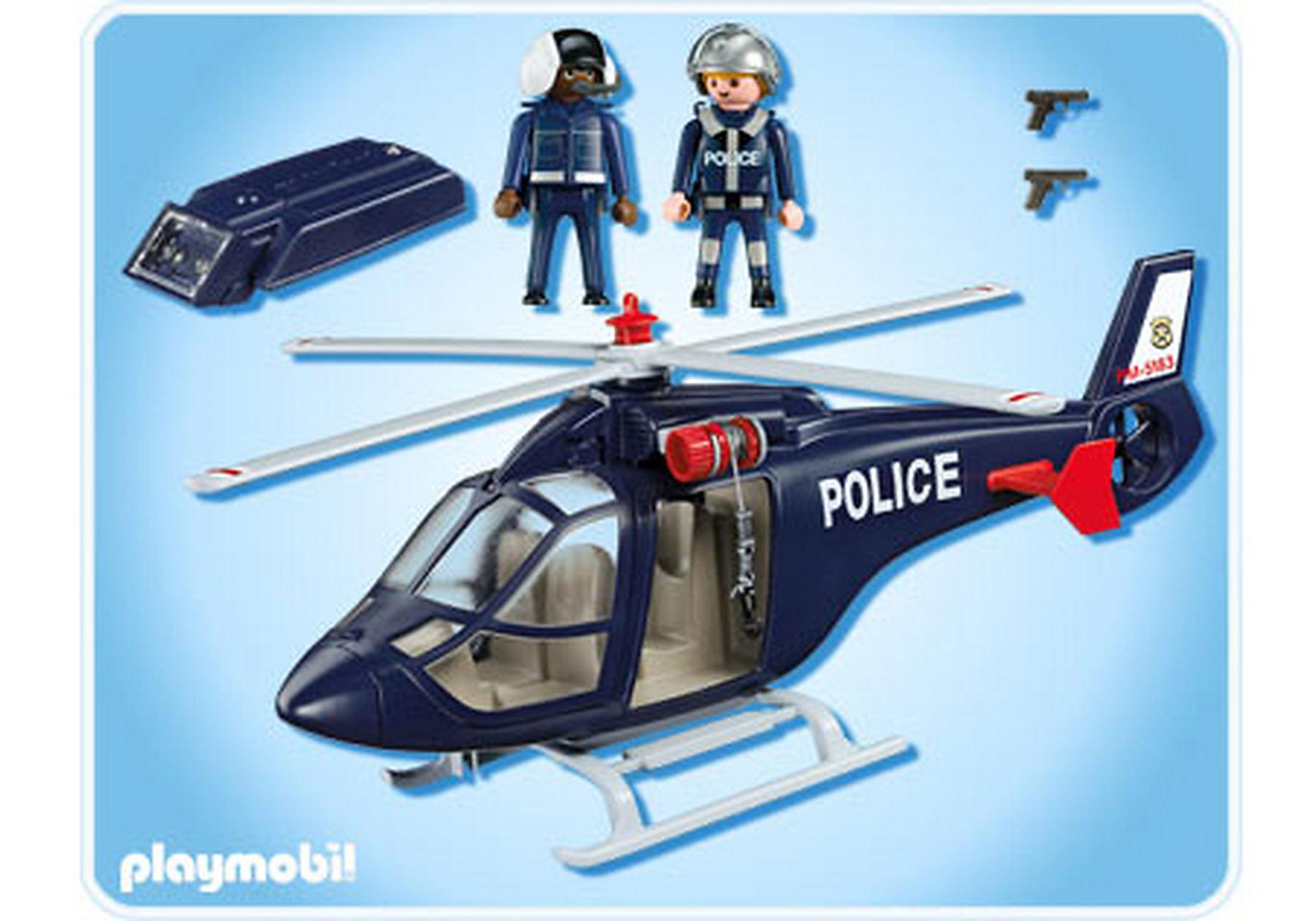 5183-A Polizeihubschrauber (int) zoom image2