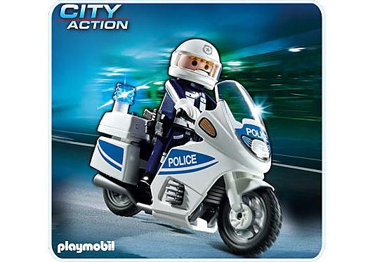 5185-A Polizeimotorrad (int) detail image 1