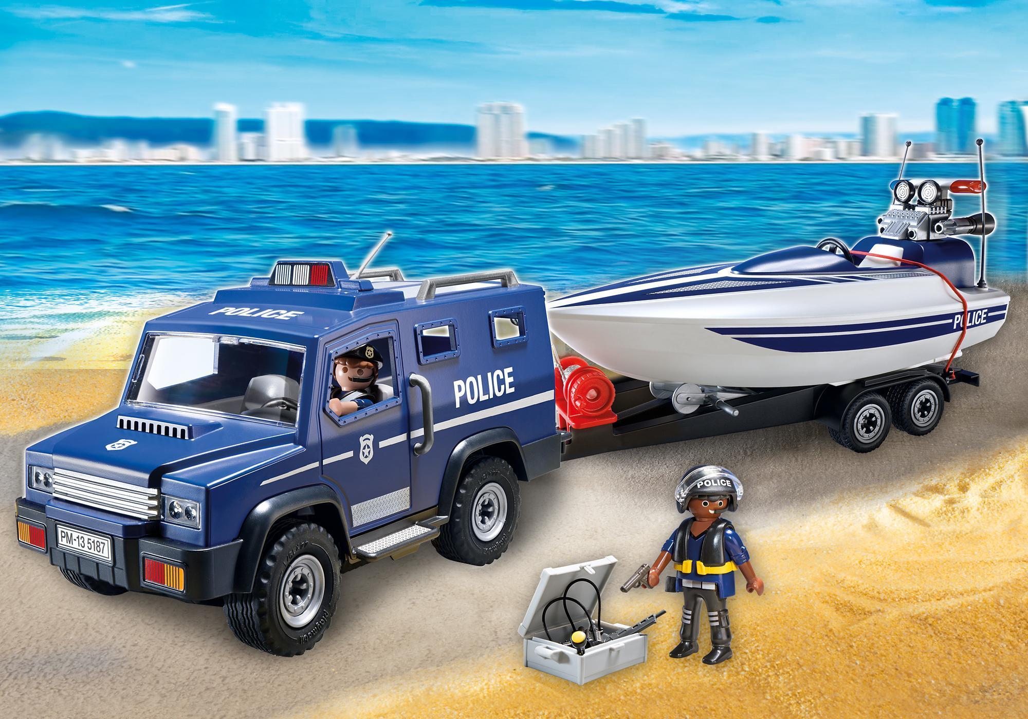 5187_product_detail/Coche Policía con Lancha