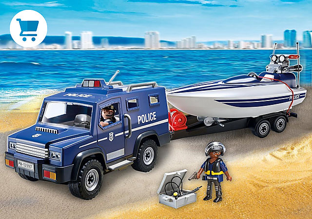 5187_product_detail/Coche de Policía con Lancha