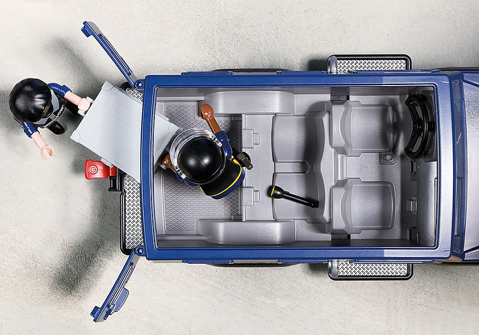 5187 Politieterreinwagen met speedboot detail image 6