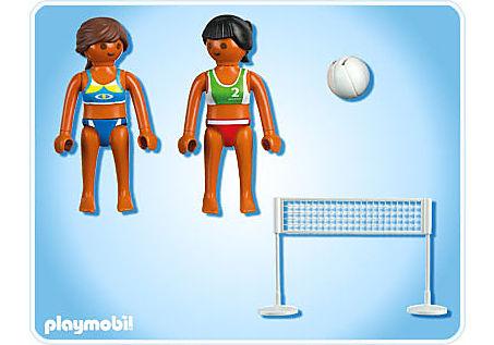5188-A Beachvolleyball mit Netz detail image 2