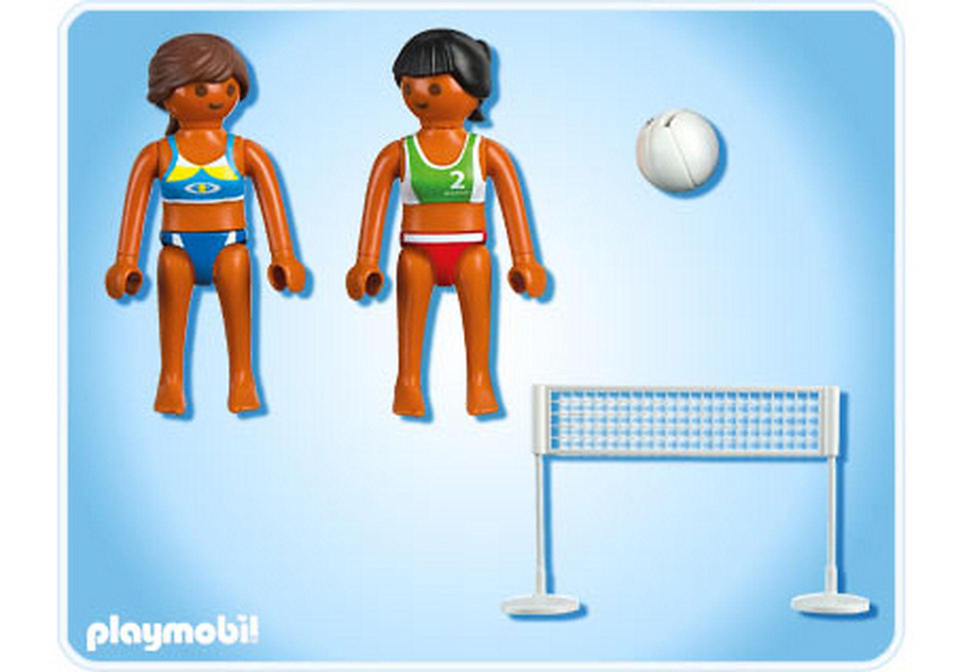 5188-A Beachvolleyball mit Netz zoom image2