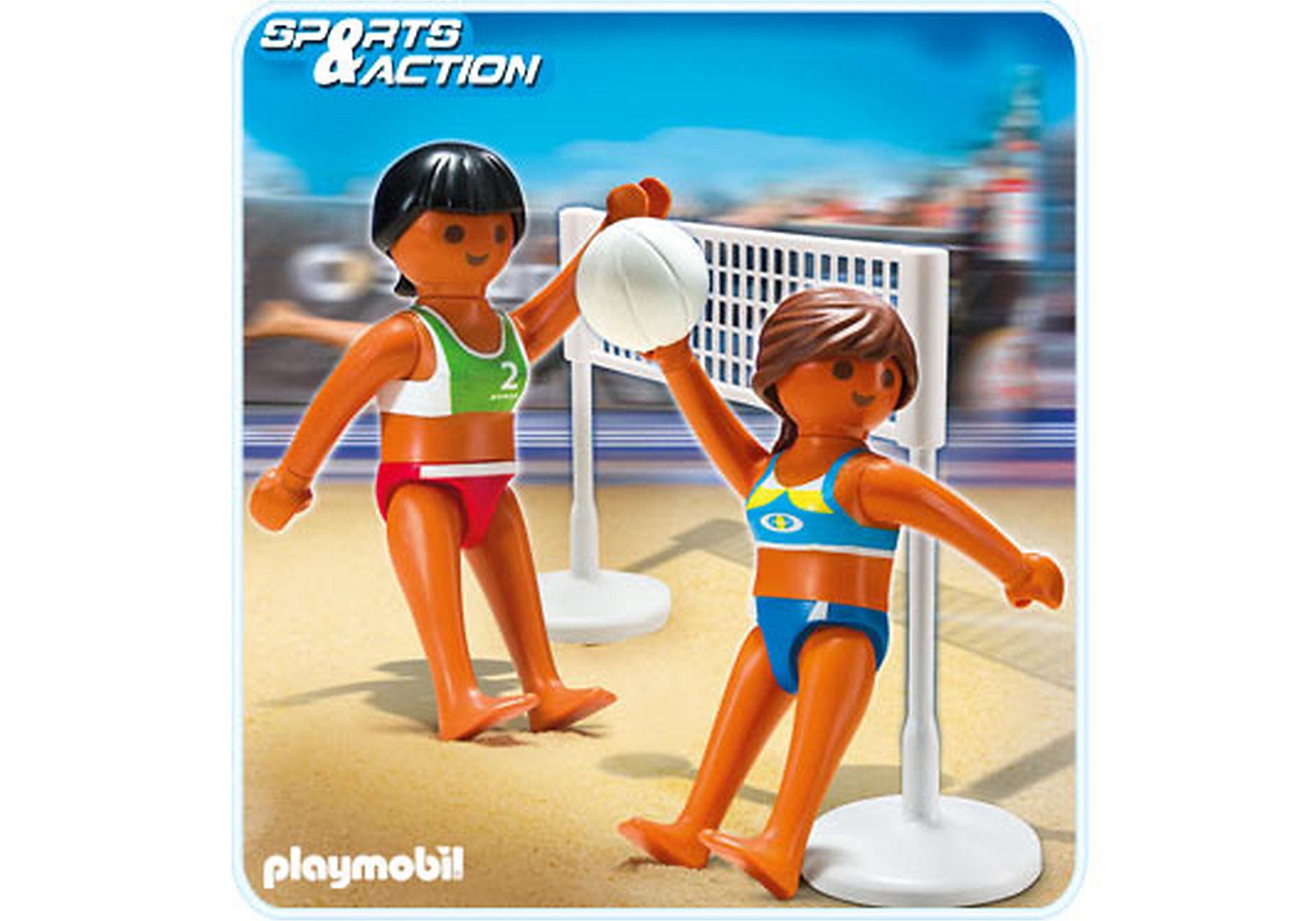 5188-A Beachvolleyball mit Netz zoom image1