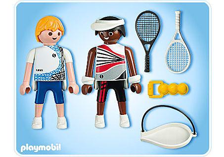 5196-A 2 Tennisspieler detail image 2