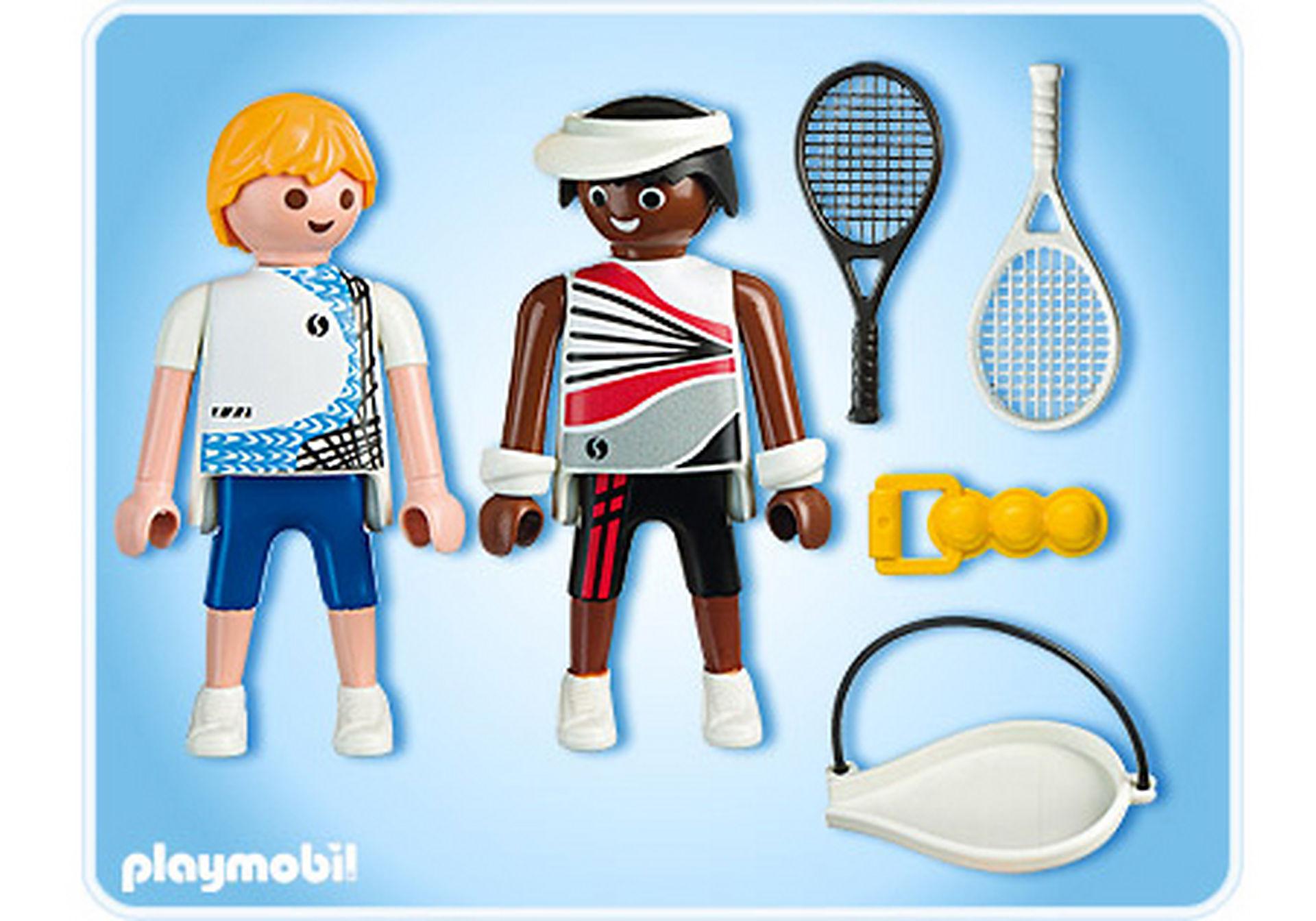 5196-A 2 Tennisspieler zoom image2