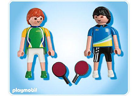 5197-A 2 Tischtennisspieler detail image 2