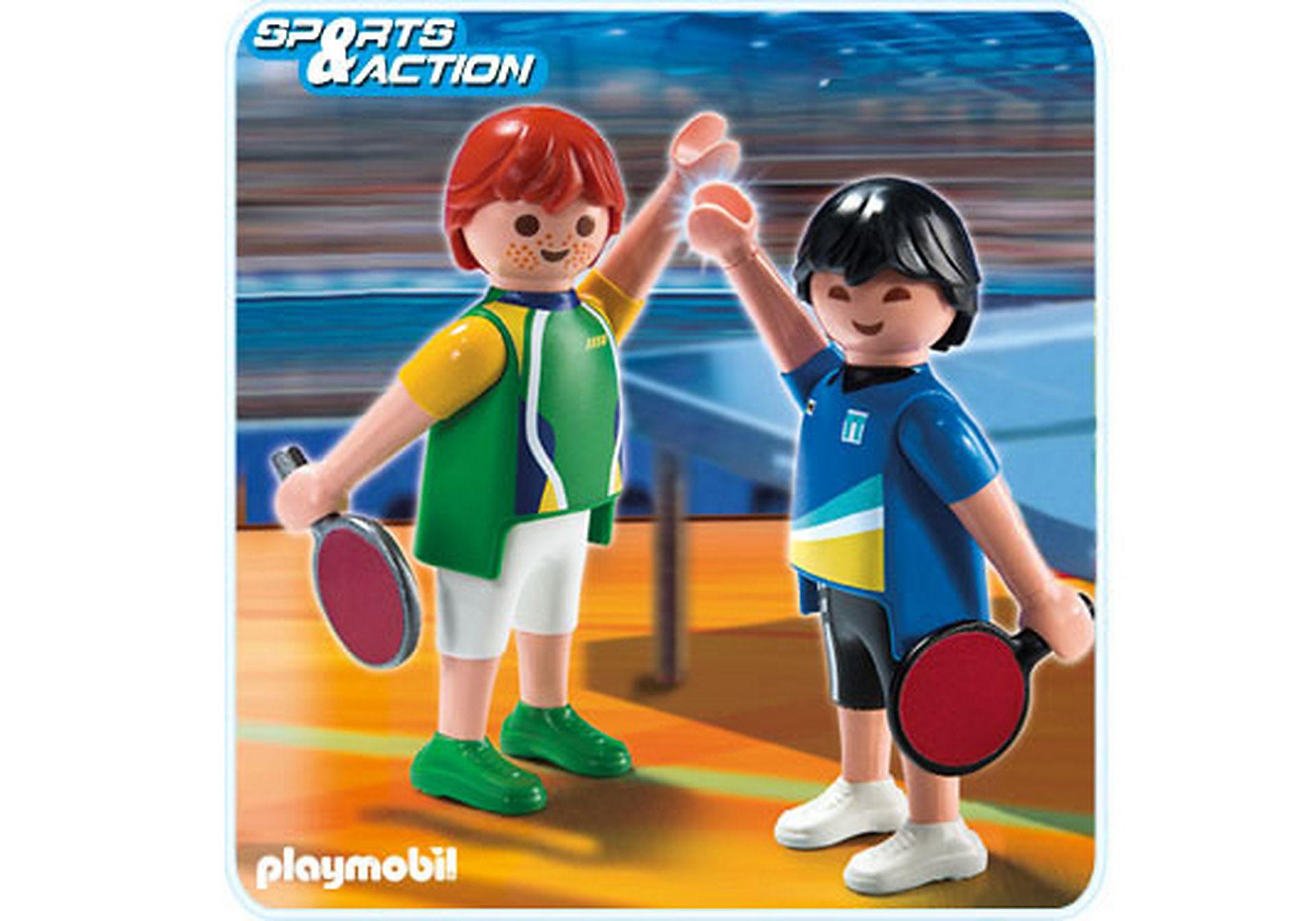 5197-A 2 Tischtennisspieler zoom image1