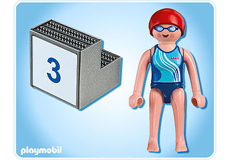 5198-A Schwimmerin detail image 2