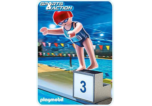 5198-A Schwimmerin detail image 1