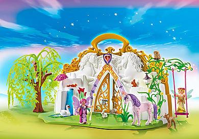5208 Eénhoornkoffer met magisch sprookjesland