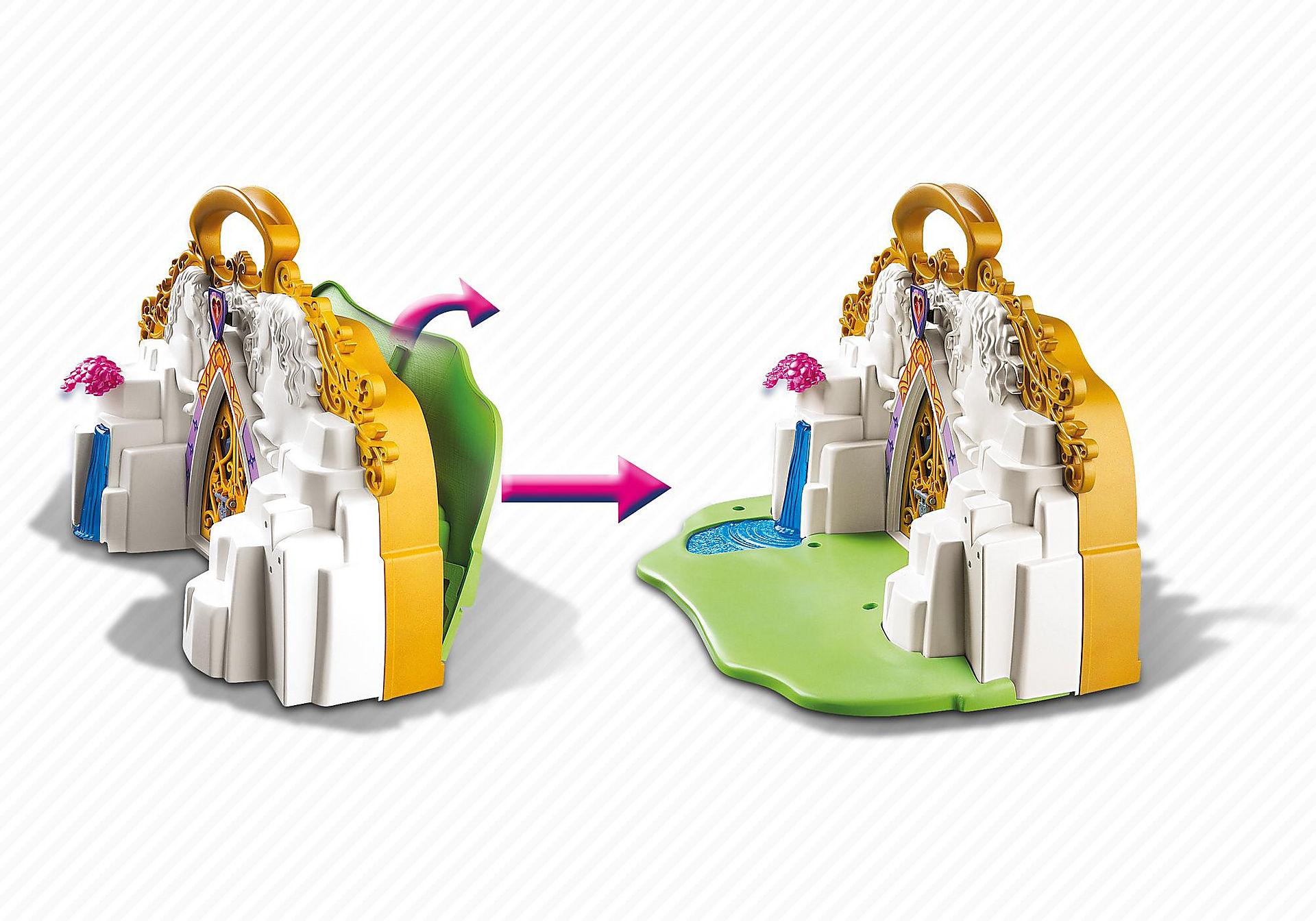 5208 Eénhoornkoffer met magisch sprookjesland zoom image4
