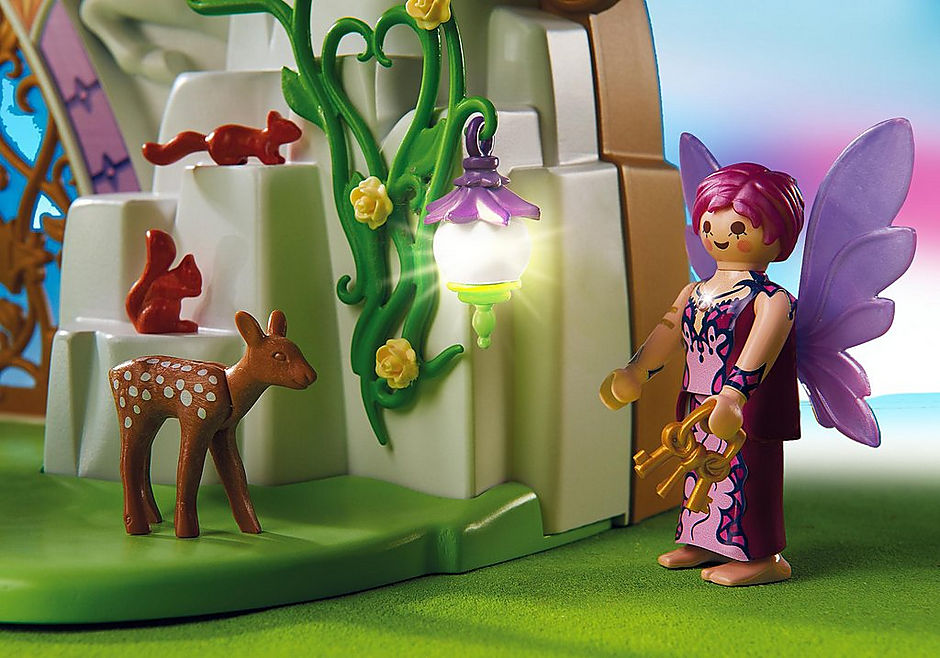 5208 Eénhoornkoffer met magisch sprookjesland detail image 7