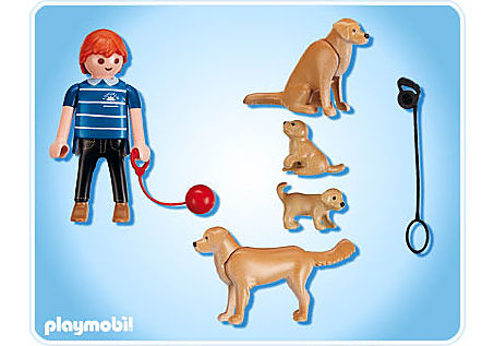 5209-A Golden Retriever-Familie detail image 2