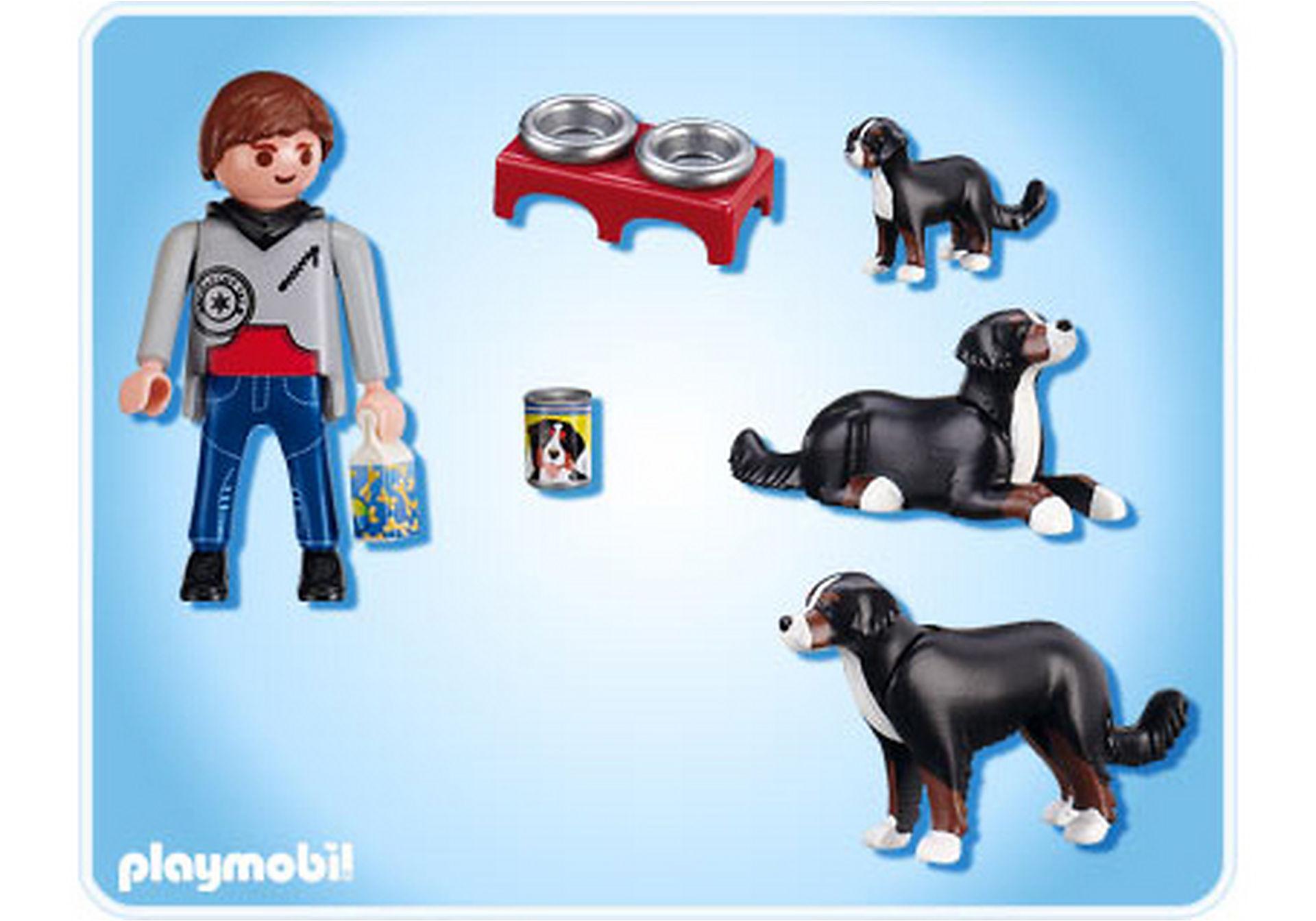 5214-A Berner Sennenhund-Familie zoom image2