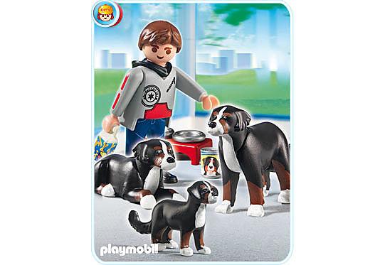 5214-A Berner Sennenhund-Familie detail image 1