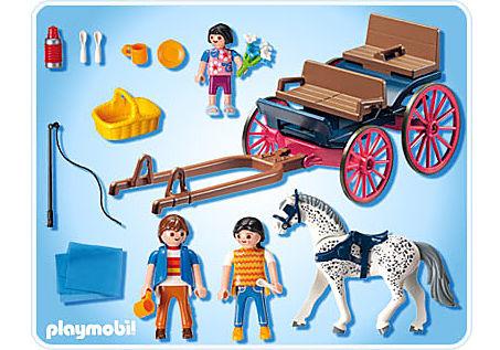 5226-A Ausflug mit Pferdekutsche detail image 2