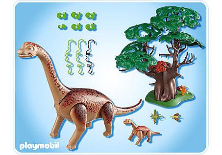 5231-A Brachiosaurus mit Baby detail image 2