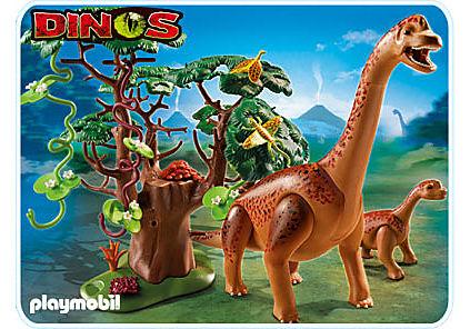 5231-A Brachiosaurus mit Baby detail image 1