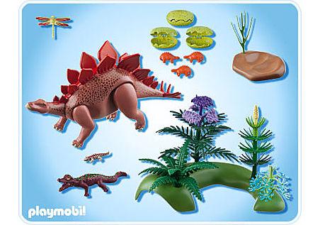 5232-A Stegosaurus mit Nest detail image 2