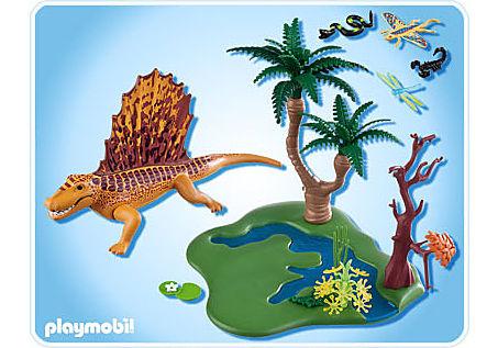 http://media.playmobil.com/i/playmobil/5235-A_product_box_back/Dimetrodon mit Wasserstelle