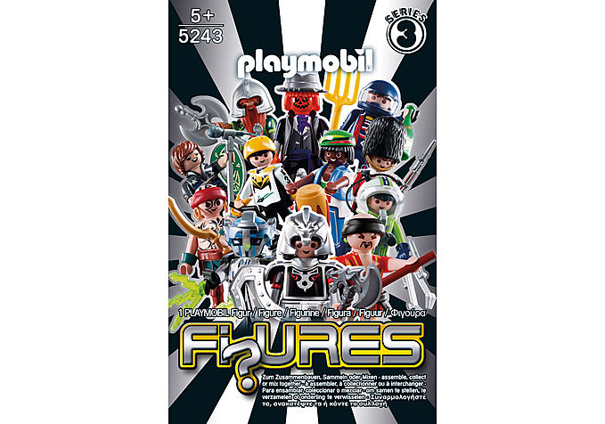 5243-A PLAYMOBIL-Figures Boys (Serie 3) detail image 1