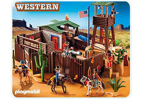 5245-A Großes Western-Fort detail image 1
