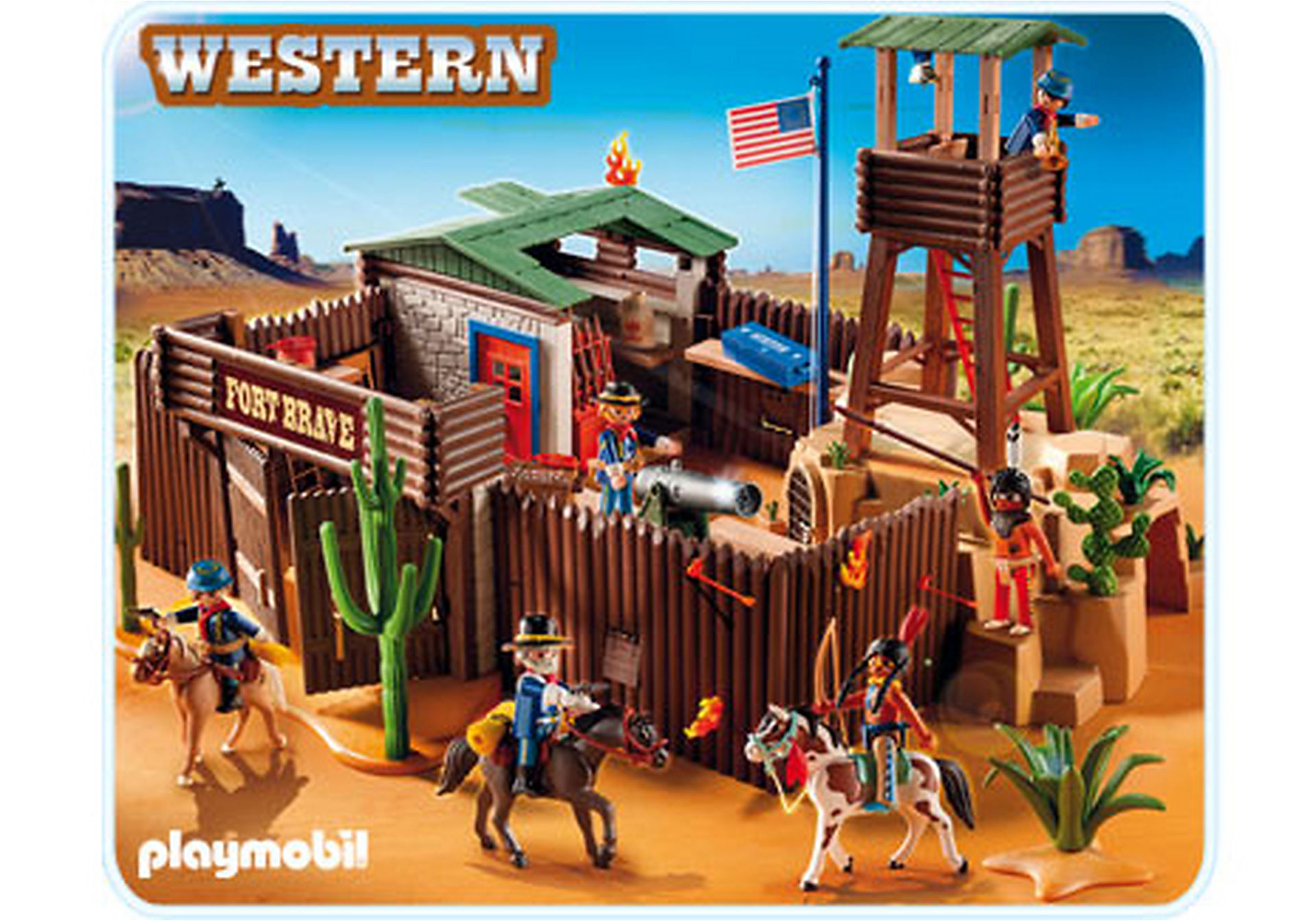 5245-A Großes Western-Fort zoom image1