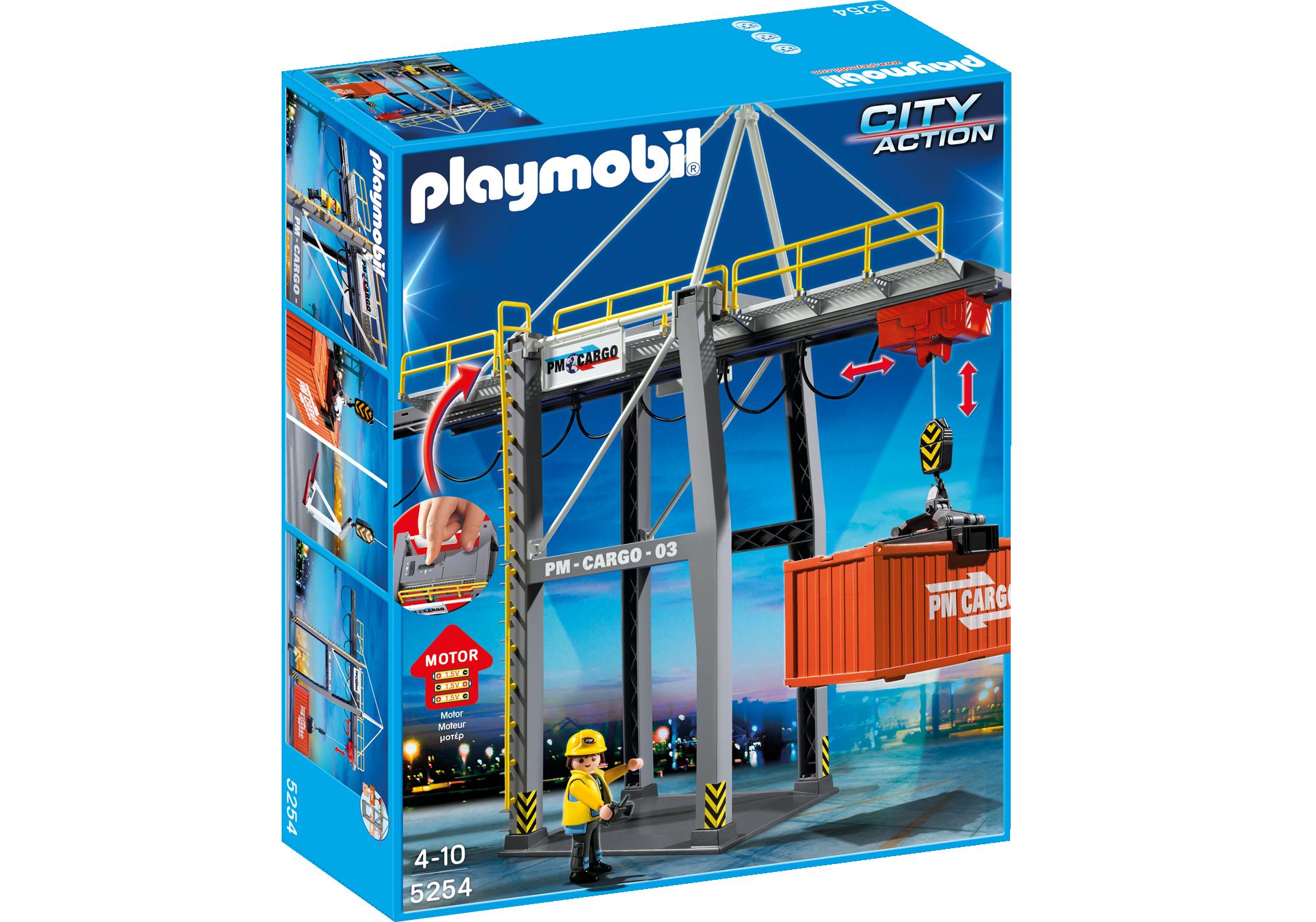 http://media.playmobil.com/i/playmobil/5254_product_box_front/Portique électrique à conteneurs