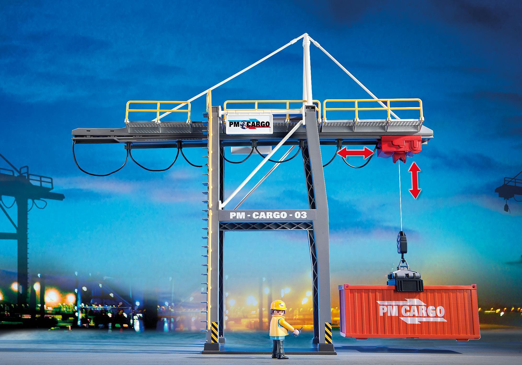 http://media.playmobil.com/i/playmobil/5254_product_extra4/Portique électrique à conteneurs