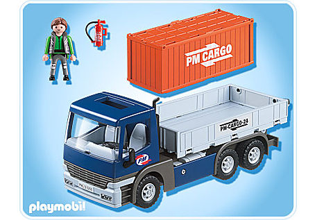 5255-A Cargo-LKW mit Container detail image 2