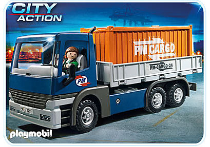 5255-A Cargo-LKW mit Container detail image 1